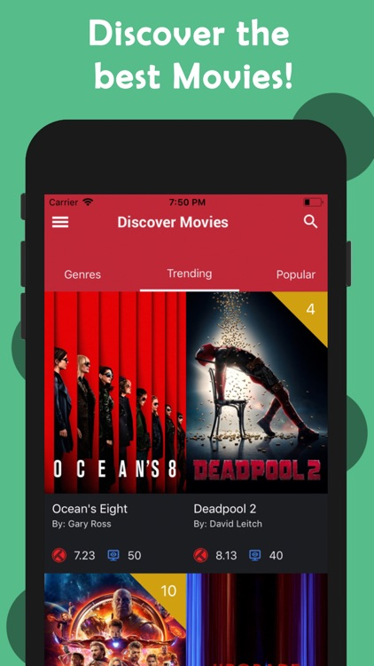 CineTrak - Your Movie Guide