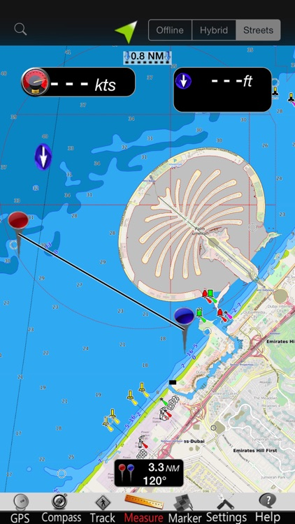 Dubai GPS Nautical Charts screenshot-3