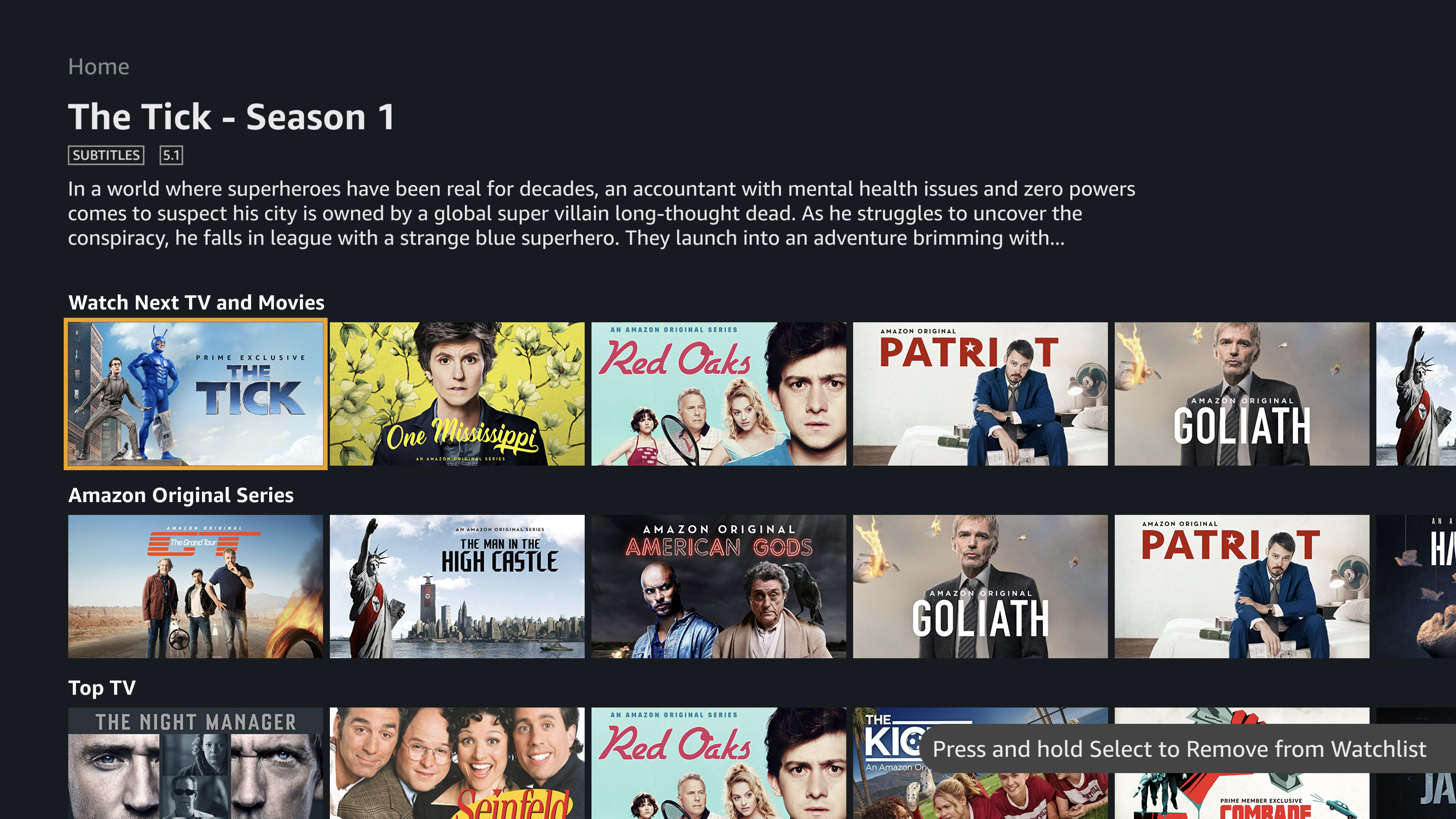 Amazon Prime Video screenshot 12