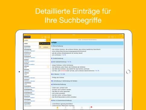 Duden Wörterbücher Deutsch Ipad App Itunes Deutschland Chartoo