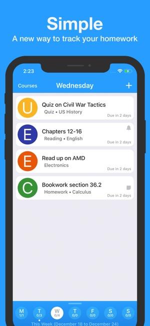 homework app on the app store
