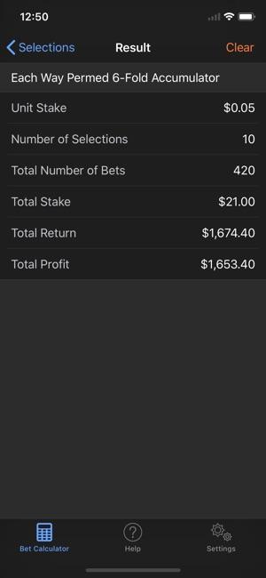 Sport spread betting calculator lucky bettingen gartenbad basel