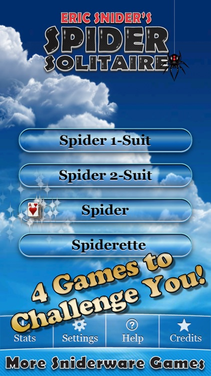 Eric's Spider Solitaire! screenshot-1