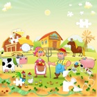 Cute Farm Anima Jigsaw Puzzle icon
