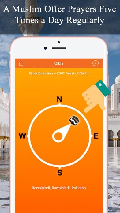 Qibla Compass & Locator Pro screenshot three