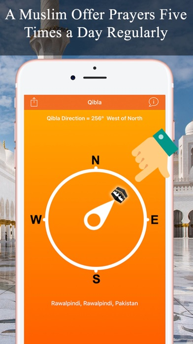 Qibla Compass & Locator Pro screenshot three