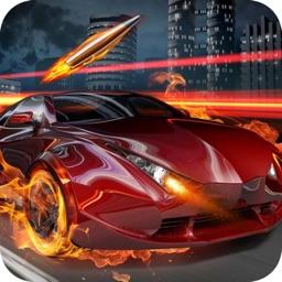 Shoot Car Racing 2D
