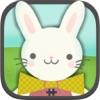 子どものためのイースターバニーゲーム:小さなお子様のためのイースターエッグハントジグソーパズルHD