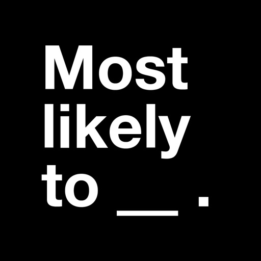 Most Likely To: Dirty Game iOS App