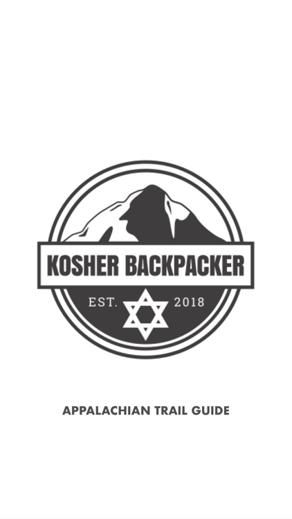 The Kosher Backpacker AT Guide