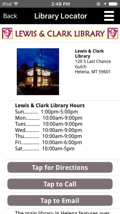 Lewis and Clark Library Catalog screenshot-4