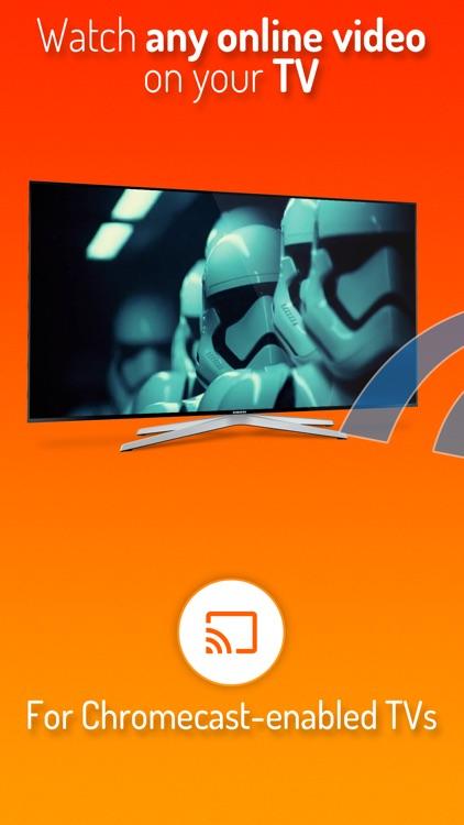 iWebTV: Cast Web Videos to TV screenshot-0