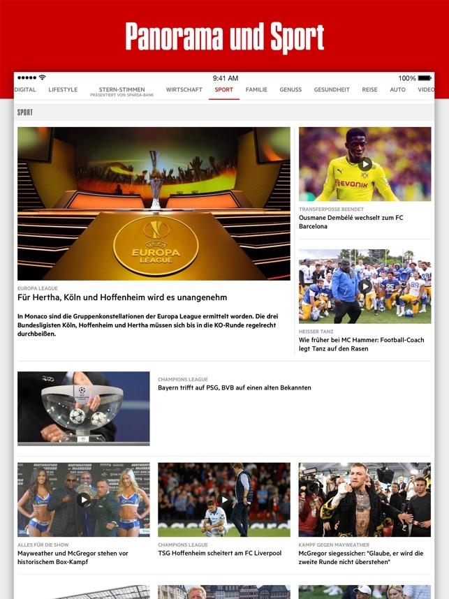 stern Nachrichten Screenshot