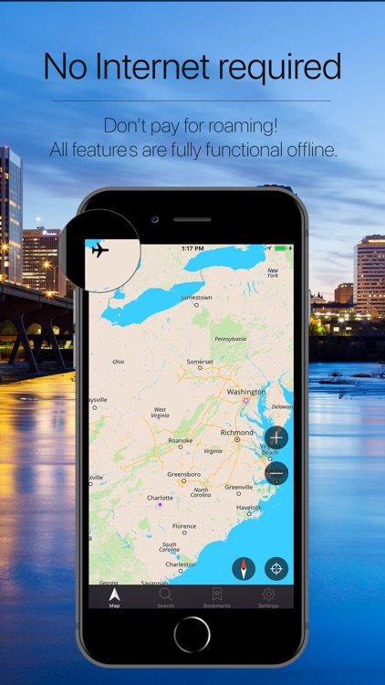 Virginia Offline Navigation