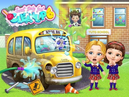 Sweet Baby Girl School Cleanup screenshot 6