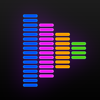 均衡器: 音量增強器出色的音質效果和可視化器的音樂愛好者