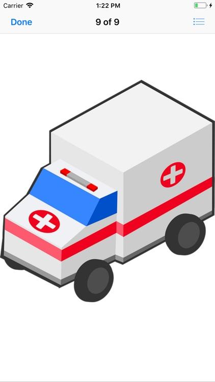 Ambulance Stickers screenshot-9