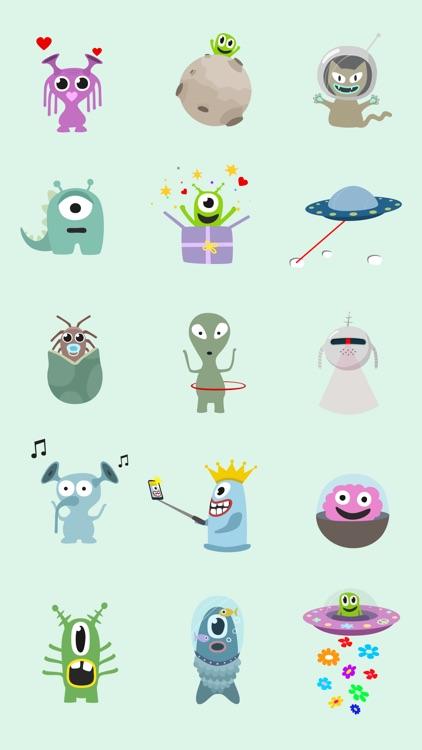 UFOs & Aliens animated