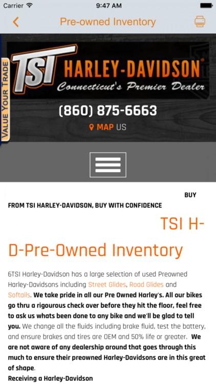 TSI Harley-Davidson screenshot-3