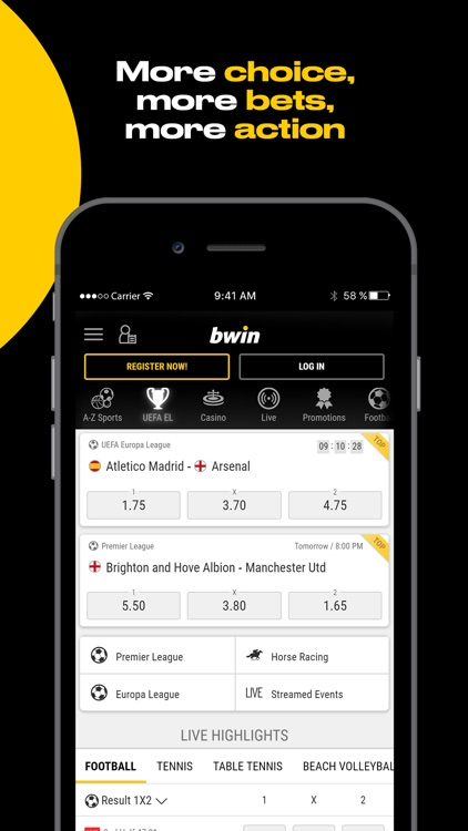 bwin Sports screenshot-1