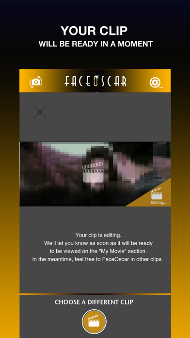 FaceOscar screenshot 3