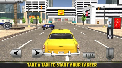 Taxi Customer: Driving SIM screenshot 1