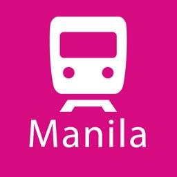 Manila Rail Map