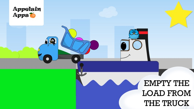Baby Truck - Car Kids Game 2-5 screenshot-4