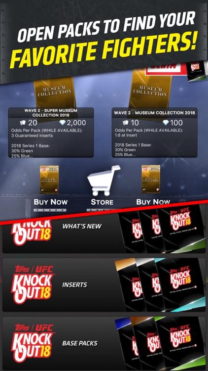 UFC KNOCKOUT: MMA Card Trader screenshot-4