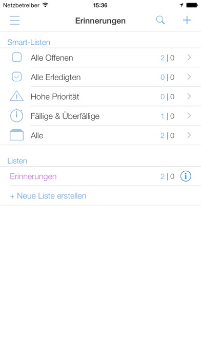 Screenshot for miCal - der iPhone Kalender in Germany App Store
