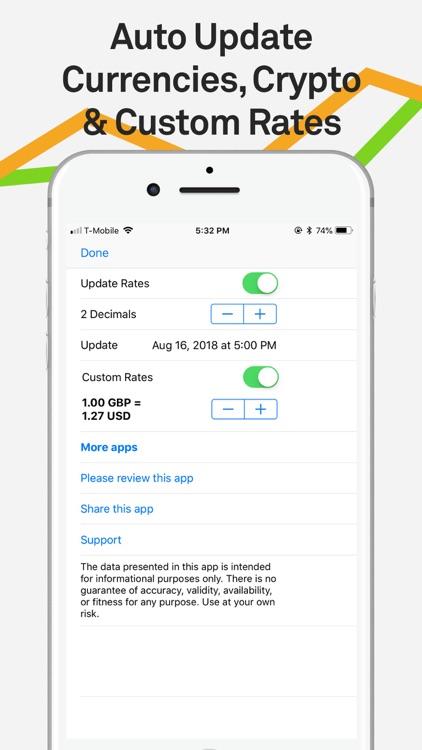 Currency Converter Pro XE $€£¥ screenshot-4