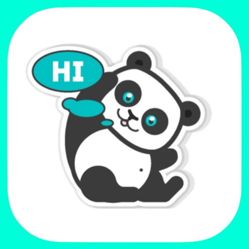 Pandamoji - stickers for message