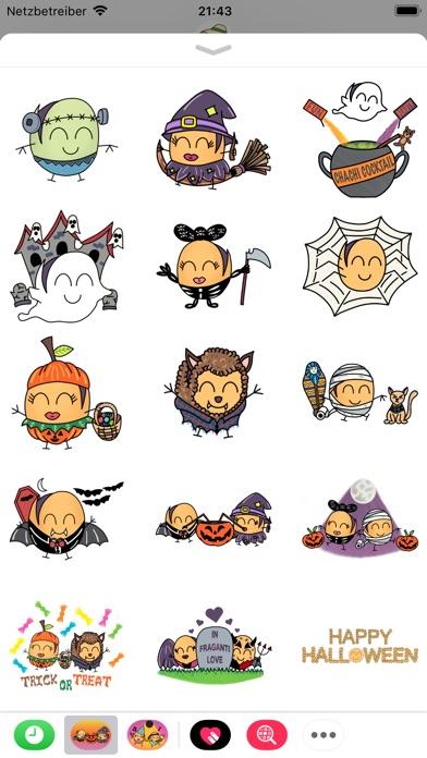 Paquitos Stickers: HalloweenScreenshot von 5