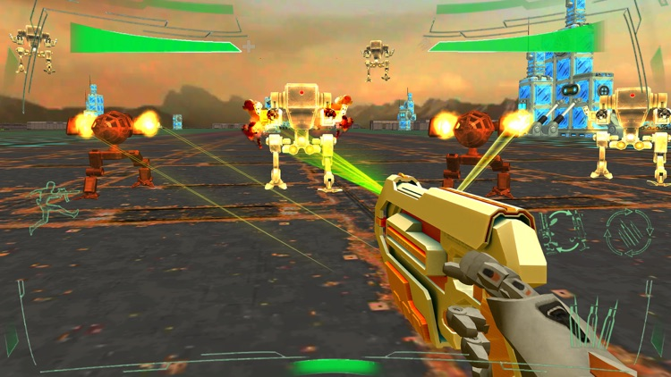 Futuristic Mech Robots Battle screenshot-1