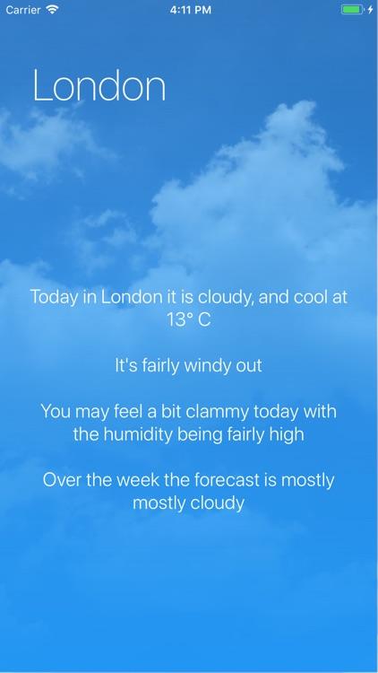 Minimal Weather screenshot-3