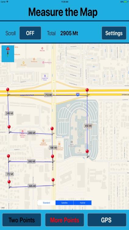 Area & Length Measuring on Map screenshot-4