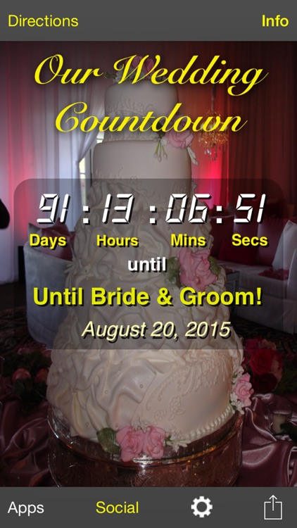 Our Wedding Countdown screenshot-0