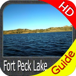 Fort Peck lake - Montana GPS HD fishing charts