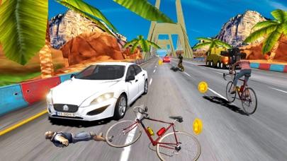 In Bicycle Racing on Highway screenshot 3