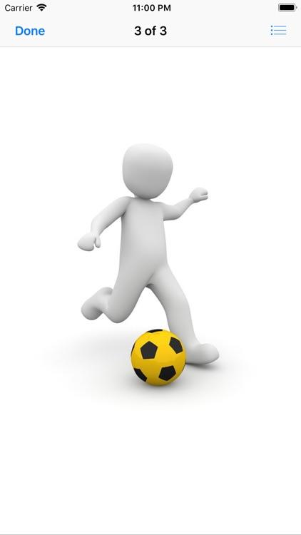 Human and Football Stickers screenshot-5