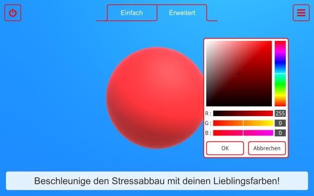 Atemkugel - Entspannungsübung Screenshot