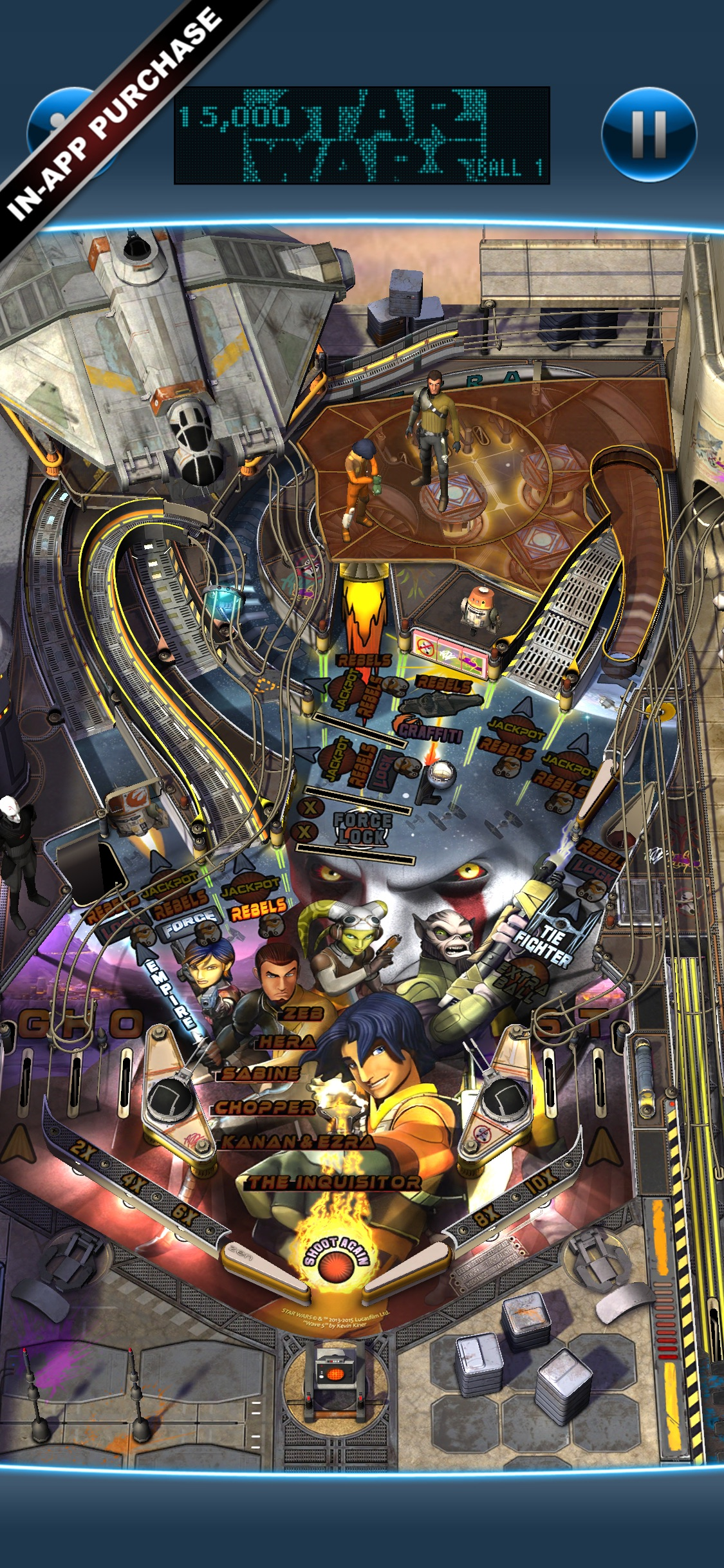 Screenshot do app Star Wars™ Pinball 7