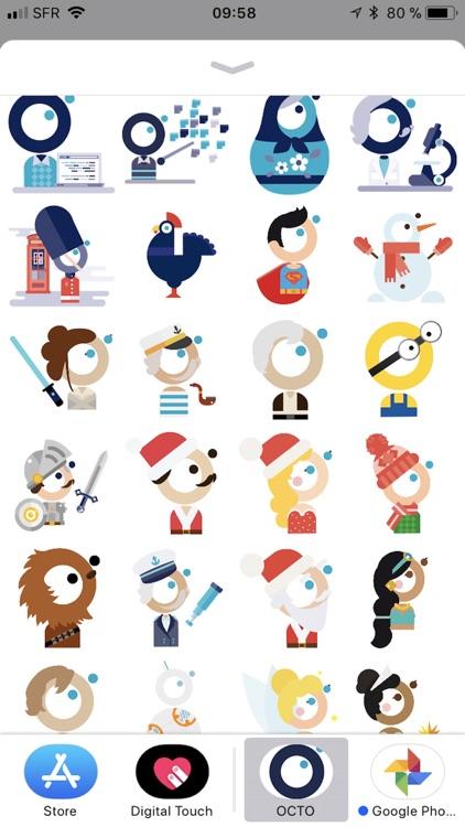 OCTO Stickers