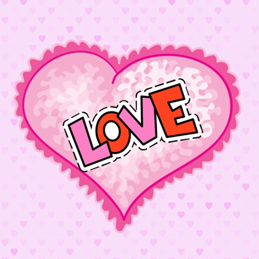 Lovely Heart Stickers
