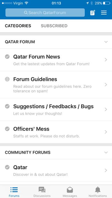 Qatar Forum screenshot one