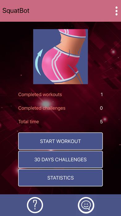 Buttocks Workout - Squat Bot screenshot 4