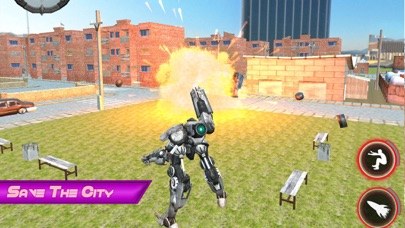 Epic Robot City Fighting screenshot two