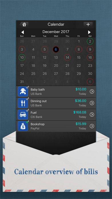 Bills Monitor – Bill Manager & Reminder screenshot