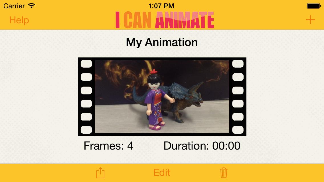 I Can Animate Screenshot