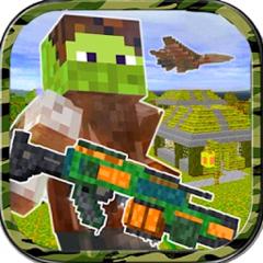 3D Pixel  Shooter Survival